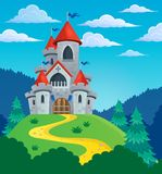 Fairy tale castle theme image 3 Stock Photography