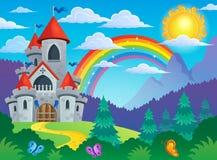Fairy tale castle theme image 4 Stock Image
