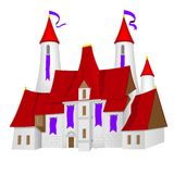 Fairy-tale castle Royalty Free Stock Images
