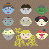 Fairy tale characters of the world Stock Image