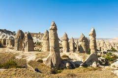 Fairy tale chimneys Royalty Free Stock Photo