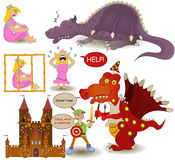Fairy tale collection. royalty free illustration