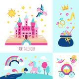 Fairy Tale Concept royalty free illustration