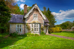 Fairy tale cottage house royalty free stock photography