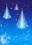 Fairy-tale do inverno ilustração royalty free