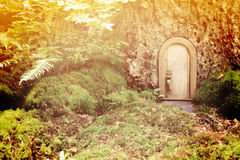 Fairy tale door Royalty Free Stock Photos