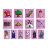 Fairy tale elements set Royalty Free Stock Photography