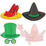 Fairy Tale Elements. Fairy Tale Set Wizard of Oz Royalty Free Stock Photo