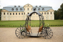 Fairy Tale Forged Carriage Royalty Free Stock Photo