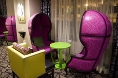 Fairy tale furniture in hotel Royalty Free Stock Photos