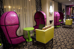Fairy tale furniture in hotel Stock Photography