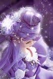 Fairy-tale girl stock illustration