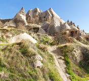 Fairy Tale Home in Cappadocia, Turkey Royalty Free Stock Images