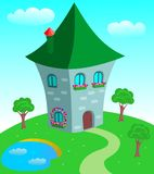 Fairy-tale house Stock Photography