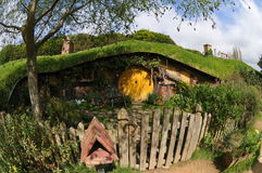Fairy tale house. Ancient Fairy tale house Garden Royalty Free Stock Image
