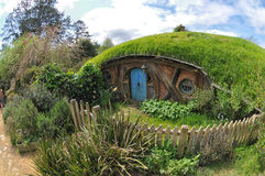 Fairy tale house. Ancient Fairy tale house Garden Royalty Free Stock Images