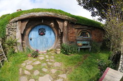 Fairy tale house. Ancient Fairy tale house Garden Stock Photo