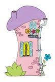 Fairy-tale house. Stock Photo
