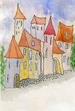 Fairy Tale Houses Stock Photos