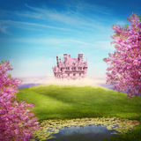 Fairy tale landscape Stock Photography