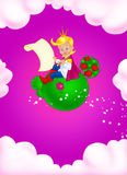 Fairy tale little prince Royalty Free Stock Images