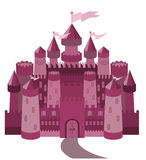 Fairy Tale magic castle Royalty Free Stock Images
