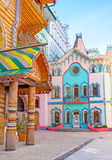 The fairy tale neighborhood in Izmailovo Royalty Free Stock Images