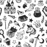 Fairy Tale, Pattern. Royalty Free Stock Image