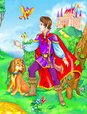 Fairy tale prince Royalty Free Stock Photo
