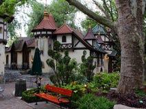 Fairy-tale scenery little castle Royalty Free Stock Photo