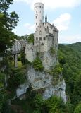 The fairy tale schloss in the Black Forest Royalty Free Stock Images