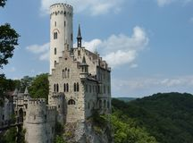 The fairy tale schloss in the Black Forest Royalty Free Stock Photo