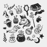 Fairy Tale, Set. Royalty Free Stock Images