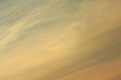 Fairy tale sky Stock Image