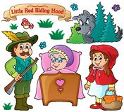 Fairy tale theme collection 1 Stock Image
