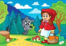 Fairy tale theme image 1 royalty free illustration