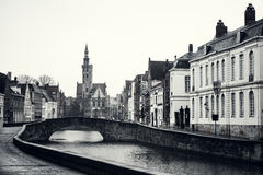 Fairy tale town of Bruges Royalty Free Stock Images