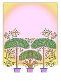 Fairy Tale Tree Design Stock Photos