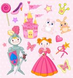 Fairy Tale Vector Elements Stock Images