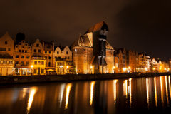 Fairy tale view of Gdansk, Poland Royalty Free Stock Photos