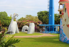 Fairy Tales Land. Dream World, Bangkok, Thailand. Dream World - amusement park near Bangkok, Thailand Royalty Free Stock Image