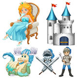 Fairy tales stock illustration