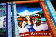 Fairy / Tarot - Problem Resolved Stock Image