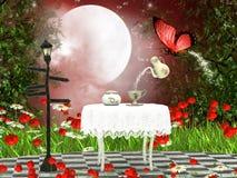 Fairy teatime Стоковые Фото