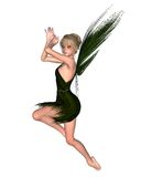 Fairy Tinkerbell - 1. Digital render of JM Barrie's Tinkerbell Fairy from Peter Pan Royalty Free Stock Photos