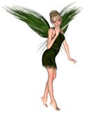 Fairy Tinkerbell - 2. Digital render of JM Barrie's Tinkerbell Fairy from Peter Pan Royalty Free Stock Photo