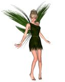Fairy Tinkerbell - 3. Digital render of JM Barrie's Tinkerbell Fairy from Peter Pan Royalty Free Stock Photography