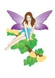 Fairy on the tree Stock Photography