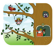 Fairy tree Royalty Free Stock Photo