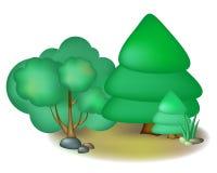 Fairy trees Royalty Free Stock Image